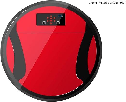 INTELZY Robot Aspirador, Aspiradora Robot con Tecnología Dirt ...