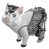 Design Toscano Porker on Patrol Pig Statue