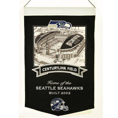 Seattle Seahawks Centurylink Field Stadium Banner by Winning Streak