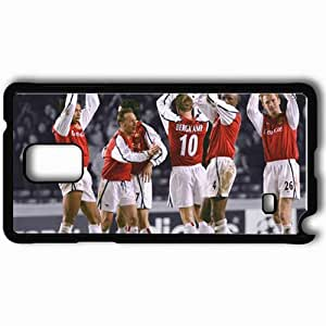 Personalized Samsung Note 4 Cell phone Case/Cover Skin Arsenal Celebrating Thierry Henry Arsenal Football Black