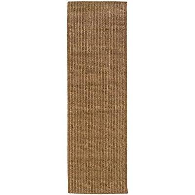 Neutral Patio Deck Rug, Tan Solid Indoor Outdoor Kitchen Low Maintenance Carpet