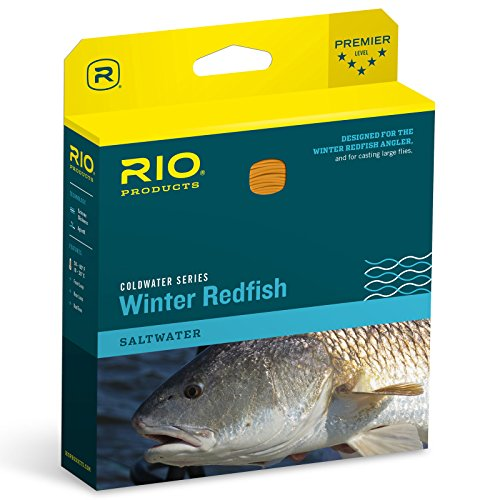 RIO Products Fly Line Winter Redfish Wf8F, Orange