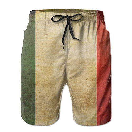 italian flag swim trunks - 3