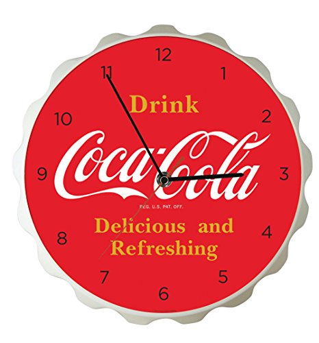 Coca Cola Bottle Cap Clock Coke Clock