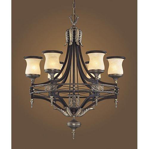 Elk Lighting 2431/6 6 Light Chandelier, 31