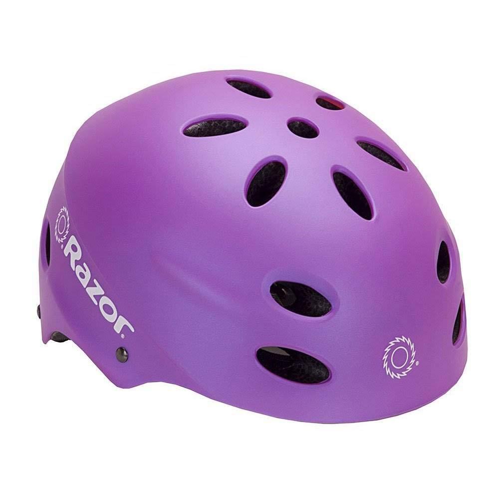 Amazon.com: Razor E325 - Casco de seguridad para ciclismo ...