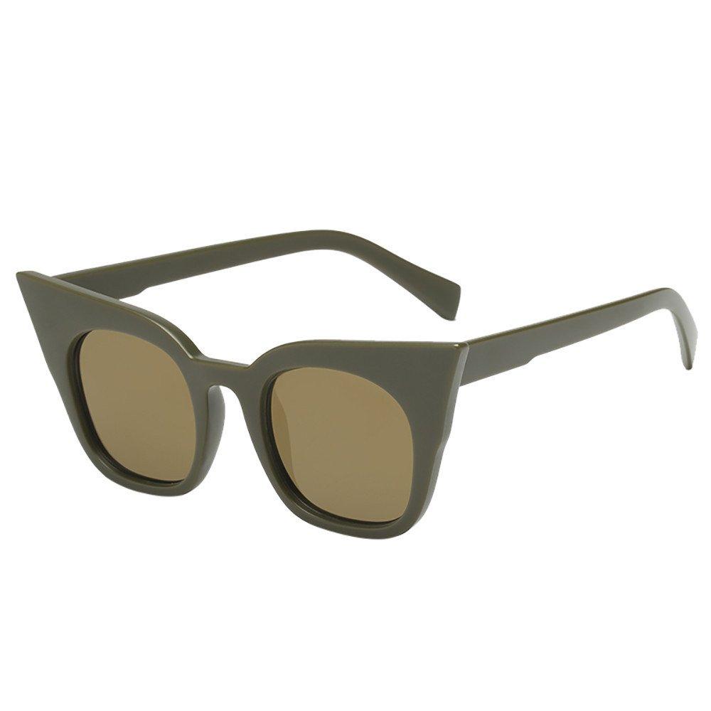 Baby Vintage Sunglasses,Yamally Infant Retro Classic Anti-UV Color Film Eyeglass