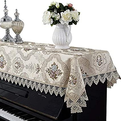 LXCS Encaje la Cubierta Piano Vertical, Cubierta de Polvo de ...