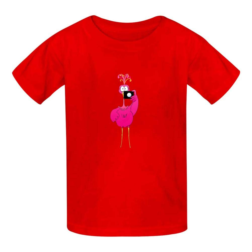 TSDDM Flamingo New Summer Cotton Boys t-Shirts Short Sleeve Solid T-Shirs