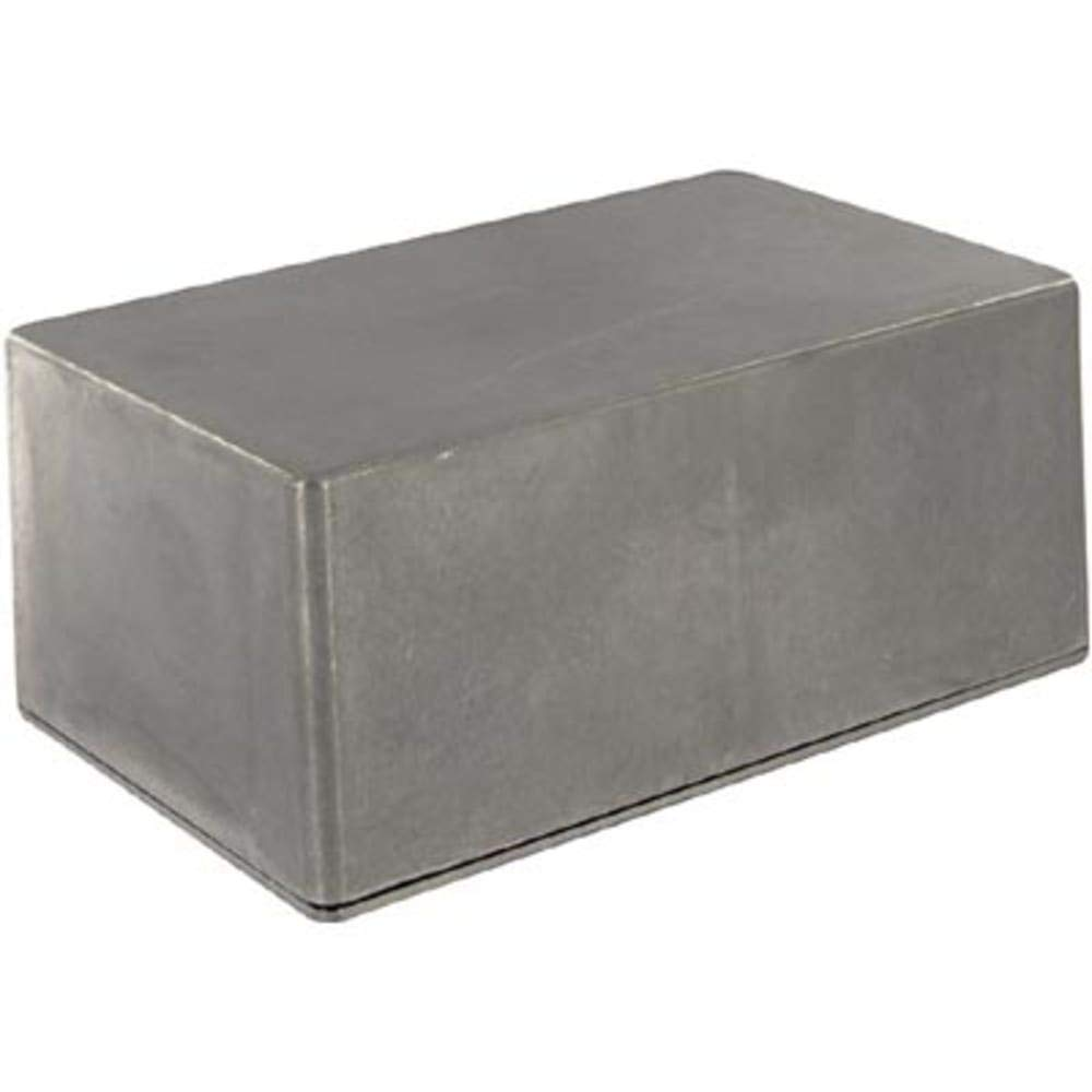 Pack of 2 Enclosure; Box-Lid; Aluminum; Die Cast; Natural; 7.39x4.7x3.22 In; IP65; 1590W Series
