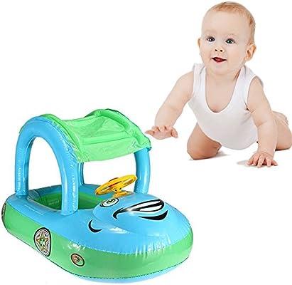 eonkoo verano bebé piscina flotador asiento barco hinchable ...