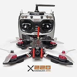 6. ARRIS X220 220mm FPV Racing Drone RTF with Frsky Q X7 Radio