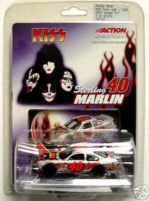 Sterling Marlin #40 KISS Rock Band Coors Light 2001 Intrepid R/T Action Collectibles 1/64 Scale