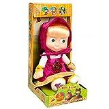 "Soft Russian Speaking toy Masha of 3 fairy tales (from popular cartoon ""Masha and Bear"")"