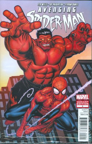 Avenging Spider-man #2 Variant Cover Edition