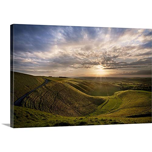 (Great Big Canvas Gallery-Wrapped Canvas Entitled Manger, White Horse Hill, Uffington 36