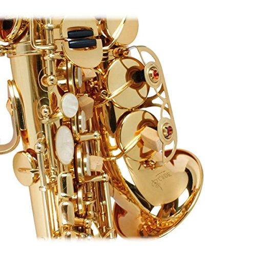 LADE WSS-795 bB Golden Brass Saxophone Hand-Caved Tube For Beginner by SOUND HOUSE 38 (Image #4)