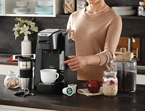 Mr. Coffee BVMC-SC500-1 Single K-Cup Brewing System, 24 oz, Black by Mr. Coffee (Image #1)