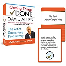 Getting Things Done: 64 Productivity Cards: The Art of Stress-Free Productivity