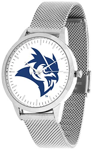 Watch University Owls Rice (Rice University Owls - Mesh Statement Watch - Silver Band)