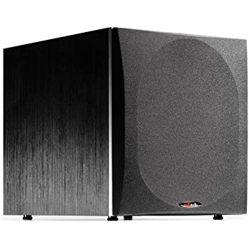 com polk audio psw inch powered subwoofer single polk audio psw505 12 inch powered subwoofer single black