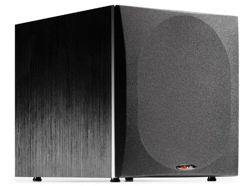 -Inch Powered Subwoofer (Single, Black) ()
