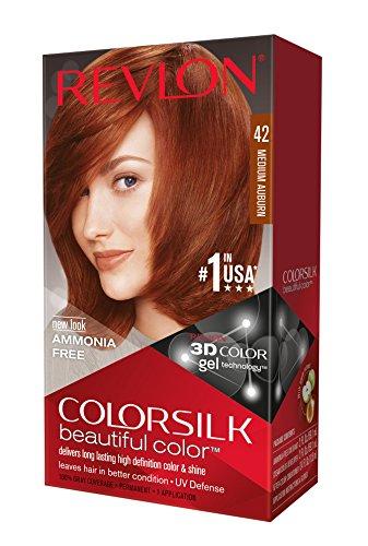 (Revlon Colorsilk Haircolor, Medium Auburn, 4.40 Total Ounces (Pack of 3))