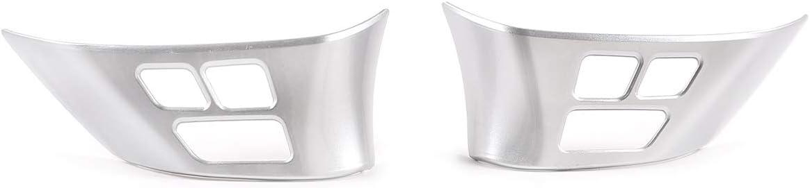 DIYUCAR Cadre de bouton de volant en ABS chrom/é pour X1 E84 2010-2013 pour E90 E92 S/érie 3 2005-2012