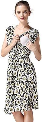 9eb9bd1314042 Emotion Moms Summer Flower Maternity Clothes Breastfeeding Nursing ...