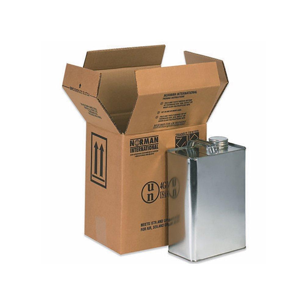 RetailSource B090610HM320 Hazmat Box, 10.25'' Height, 6.875'' Width, 9'' Length, Brown (Pack of 320)