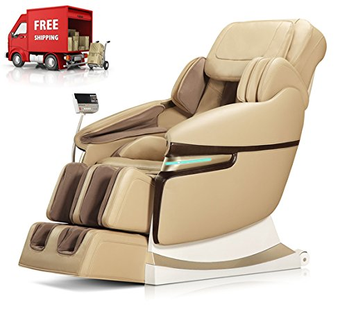 Fitness_Hub Electric Relax Massage Chair Recliner, Zero Gravity Full Body with Heat and Foot Rollers