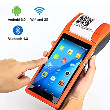 TQ Android WiFi POS PDA Terminal 1D Barcode Scanner Lector ...