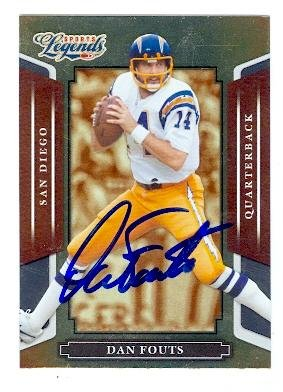 Dan Fouts autographed Football Card (San Diego Chargers) 2008 Donruss Sports Legends #104 ()