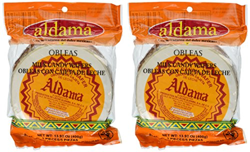 - Aldama Oblea Grande Milk Candy Dulce De Leche Mexican Candy 10 Big Pieces Sealed