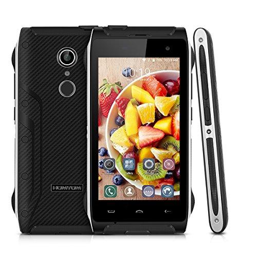 HOMTOM HT20 4.7 Zoll 4G Smartphone Android 6.0 Quad Core 2GB RAM 16GB ROM Dual SIM outdoor Handy Ohne Vertrag Touch ID Smart Gestures HotKnot Fingerprint OTG OTA GPS Grün