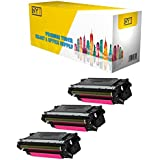 New York TonerTM New Compatible 3 Pack CF333A High Yield Toner for HP - M651n - Magenta