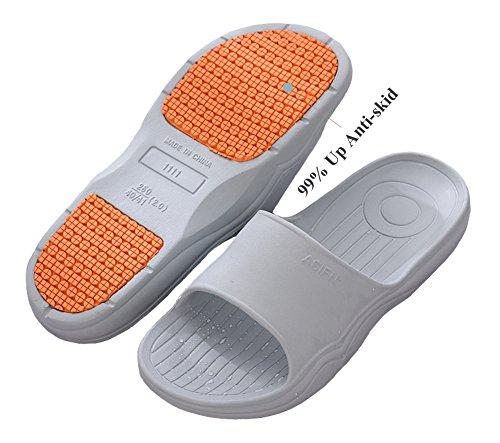 Weiche Sommer Strand BadeschuheIndoor Dusche Hausschuhe Sandale Frauen Gym Grau Männer Leichte Schuhe Rutschfeste Bad Haus Schwimmen vYXq4