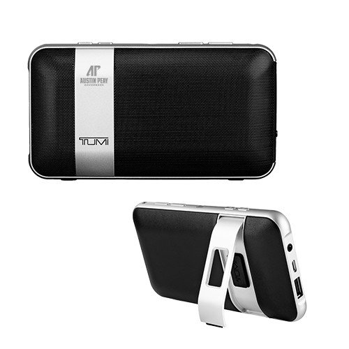 Austin Peay Tumi Wireless Portable Speaker w/Powerbank 'AP Austin Peay Governors - Official Athletic Logo Engraved' by CollegeFanGear