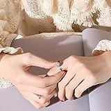Fidget Ring Women's Band Ring Cubic Zirconia