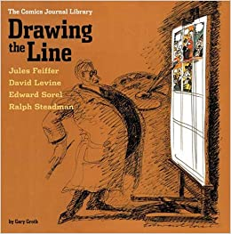 drawing the line tcj library vol 4 the comics journal v 4