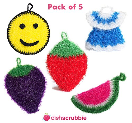 dish-scrubber-for-dishwashing-5-pk-mix-net-cloth-scrubber-washcloth-dish-rag-cloths-no-mildew-odor-s