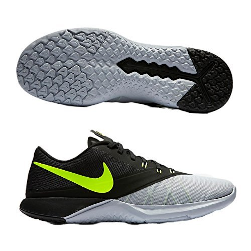 New Nike Men's FS Lite Trainer 4 Cross Trainer Grey/Volt 12 by NIKE