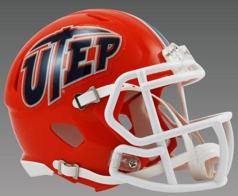 NCAA Texas El Paso (UTEP) Miners Speed Mini Helmet by Riddell