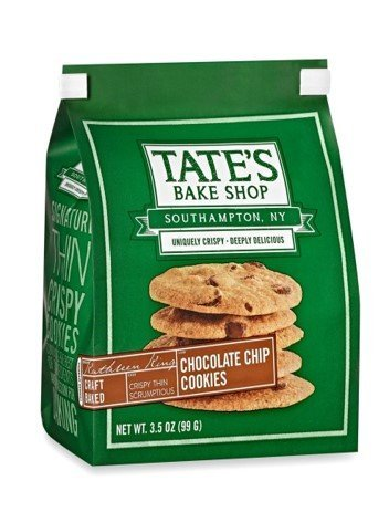 - Tate's Bake Shop Chocolate Chip Cookies 3.5oz - Pack of 3.