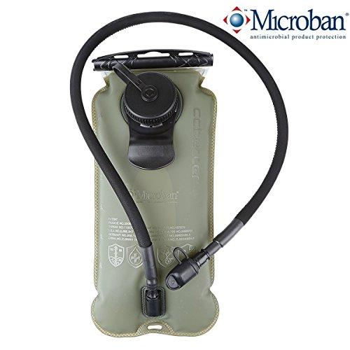 ccbetter Trinkbeutel 3L Trinkblase Auslaufsicher Trinksystem Blase Geruchsfrei Wasser Beutel reservoir für Touren, Camping, Wandern, Laufen, Radfahren, Reisen und andere Sport-Aktivitäten (BPA-frei und FDA-Zertifizierung)