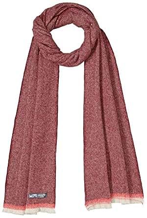 Waverley Mills Women's EdgeScarfRed, Red, One size