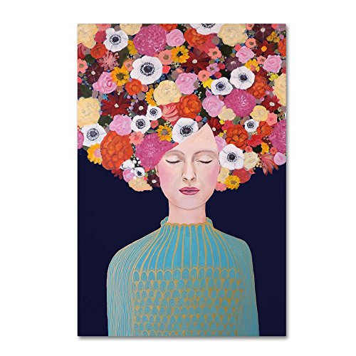 Celeste by Sylvie Demers, 12x19-Inch Canvas Wall Art ()