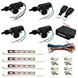 central locking system - uxcell Car Central Locking System Keyless Entry System with 4 Power Door Lock Actuator Kit