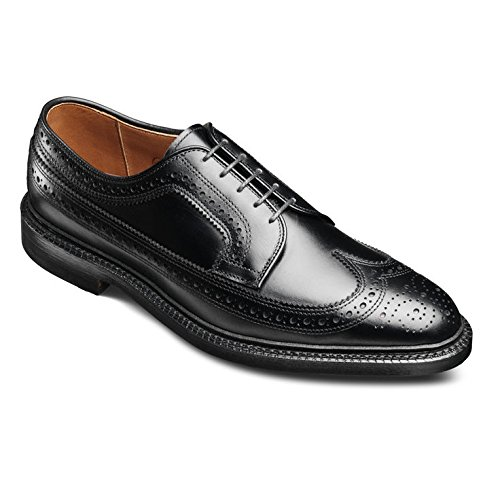 Allen Edmonds Hombres Macneil Punta Larga Blucher Oxford Black