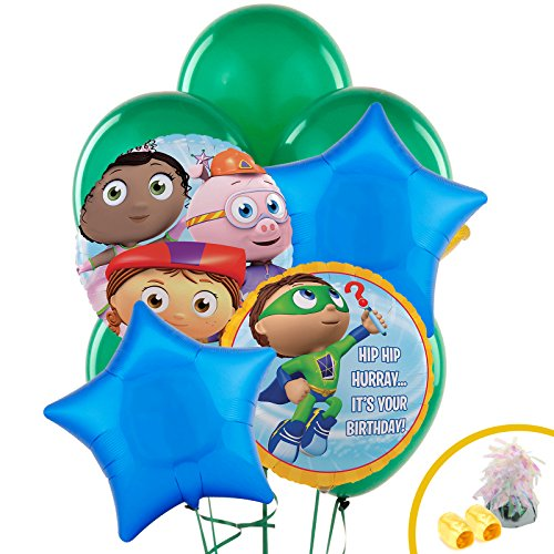 BirthdayExpress Super Why Party Supplies - Balloon Bouquet